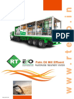 RT ECO Palm Oil Mill Effluent POME Wastewater Treatment Plant Brochure
