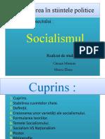 Științe Politice-Proiect SOCIALISMUL