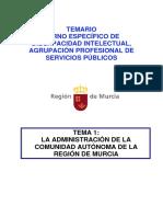131004-Tema 1LaAdministracionCARM