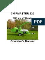 GreenMech - User Manual -- ChipMaster 220 manual English