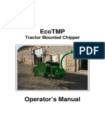GreenMech - User Manual -- Eco 150 TMP manual English