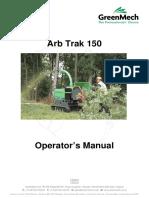 GreenMech - User Manual -- MK2 ARB TRAK 150