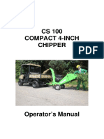 GreenMech - User Manual -- CS 100 & CS100 TMP manual English