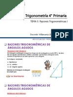 Razones Trigonométricas PRIMARIA