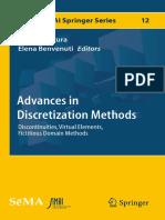 Advances in Discretization Methods Discontinuities, Virtual Elements, Fictitious Domain Methods ( PDFDrive.com )