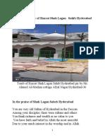 A brief biography of Hazrat Syed Shah Hameed Ullah Qadri Hyderabad