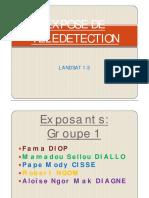 EXPOSE DE TELEDETECTION