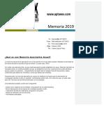 Memoria Aptaeex 2019
