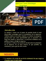 5 DETERMINACIÓN DE LA VISIÓN Y MISIÓN