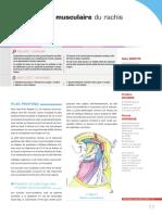 Musculature Du Rachis Cervical