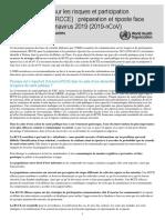 Communication sur les risques et  participation communautaire (RCCE)