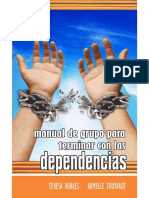 Manual de grupo para terminar con las dependencias