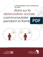 Orientations sur la distanciation sociale communautaire pendant la flambée