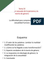 La condición sexuada de la persona y la teoría de género.pptx
