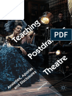 Glenn D'Cruz - Teaching Postdramatic Theatre-Springer International Publishing_Palgrave Macmillan (2018).pdf