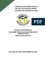 _ESTUDIO_DE_PERTINENCIA AUDIOVISUALES 2018 - 2019.