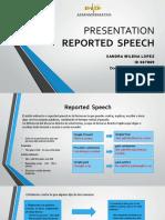 Presentacion Reported  Speech