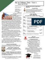 Bulletin - June 28, 2020