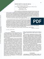 model for pile test-t92-064