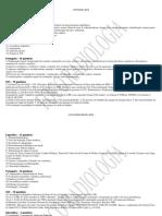 Modelo de cronograma de estudos Foco Radiologia
