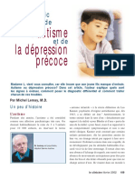 AUTISME ET DEPRESSION