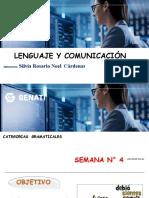 SEMANA N°4 CATEGORIAS GRAMATICALES.ppt