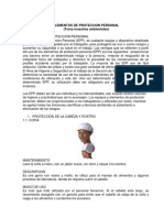 EPP - Toma muestras