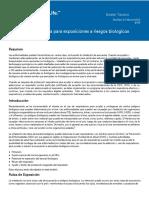Respiratory Protection for Airborne Exposures to Biohazards_TDB174 SPANISH