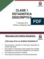 CLASE 1- INTRODUCCION A LA ESTADISTICA GRAFICOS