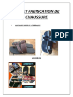 Projet chaussure
