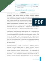 Programa de desarrollo Psicomotor