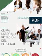 Clima Laboral y Rotación Personal