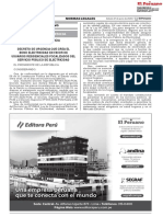 BONO ELECTRICIDAD-DECRETO DE URGENCIA Nº 074-2020