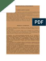 ELEMENTOS FUNDAMENTALES DE LA PSICOTERAPIA