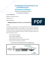 D1 - Implementación de la Fase I y II en la Parroquia Totoras