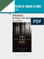 Arkanus. El Señor Del Abismo. Texto_ Carlos Miranda