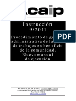 instruccion_9_2011 proc gestion pena TBC manual de ejecucion