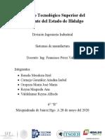 Proyecto- Sistemas de Manufactura