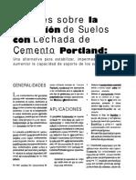 4 Apuntes sobre la inyeccion de suelos con lechada de cemento portland