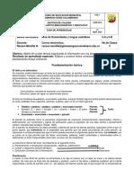 GUIA DE APRENDIZAJE 2 grados sexto para imprimir