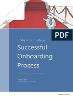 5 Steps to Create a Successful Onboarding Process