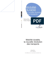 Plaidoyer Roland Ries Mobilite Durable