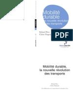 Plaidoyer Roland Ries Mobilite Durable