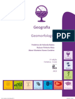 Livro Geografia - Geomorfologia