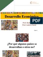 CLASE 3 DESARROLLO 2019