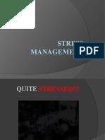 3. Stress Management