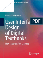 (Lecture Notes in Educational Technology) Elena Aurel Railean (auth.) - User Interface Design of Digital Textbooks_ How Screens Affect Learning-Springer Singapore (2017)