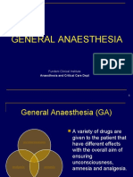 Anaesthesia English