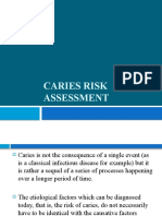 4. Caries Risk Assessment