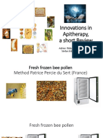 Innovations in Apitherapy, a Review - S. Stangaciu